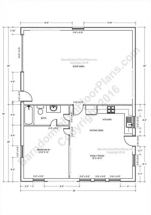 Image Of Metal Building With Living Quarters Floor Plans Fresh Pole