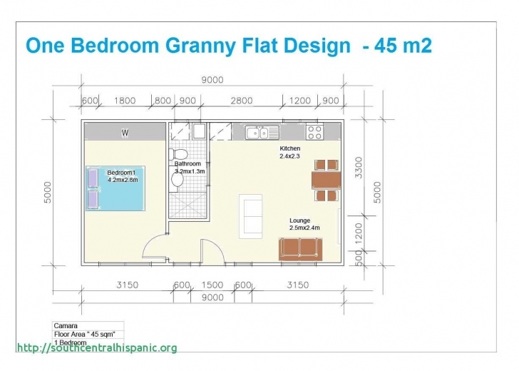 Incredible 1 Bedroom Floor Plan Granny Flat Meilleur De 25 Inspirational House 1 Bedroom Floor Plan Granny Flat Picture