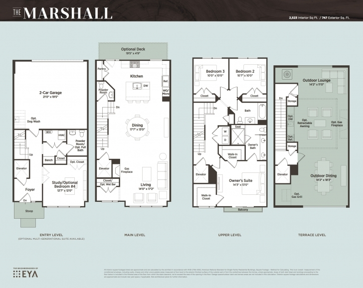 Incredible Grosvenor Heights A New Luxury Townhouse Development, Newest Luxury Townhome Floor Plans Pic