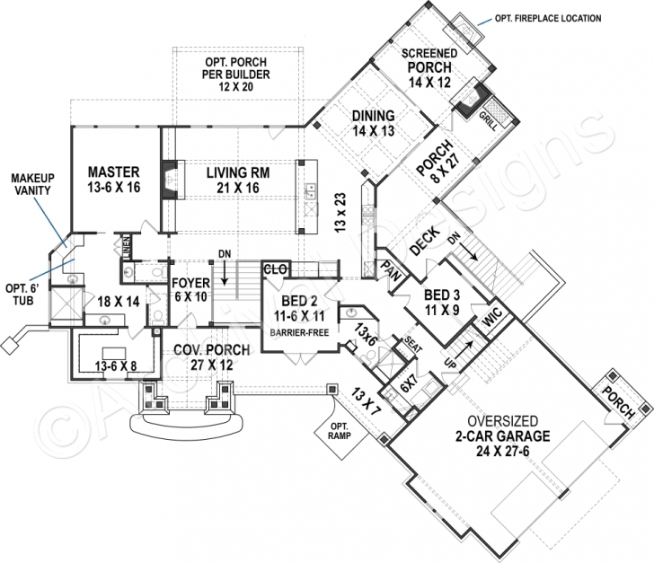 Incredible Harmony Ranch | Rustic Floor Plan | Mountain House Plans Ranch House Plans Photo