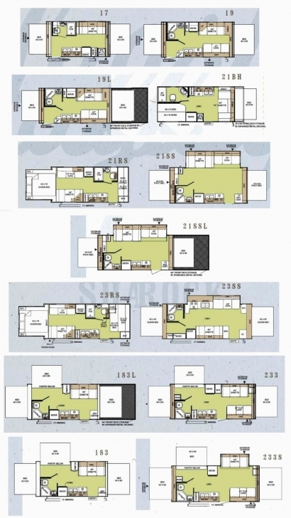 Incredible Prowler Travel Trailer Floor Plans Inspirational