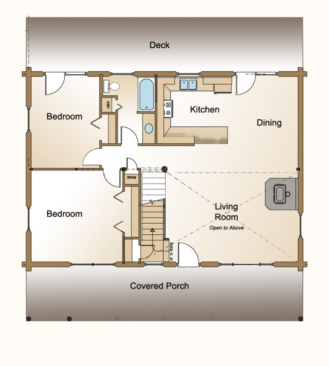 Incredible Small House Floor Plans Simple — Small Houses : Stunning Small House Small House Floor Plans Picture