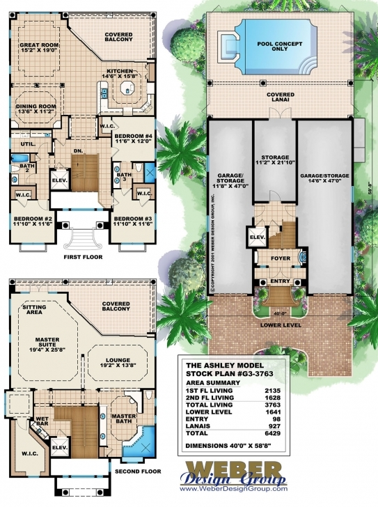 Incredible Three Story House Plans With Photos - Contemporary, Luxury Mansions Three Story House Plans Picture