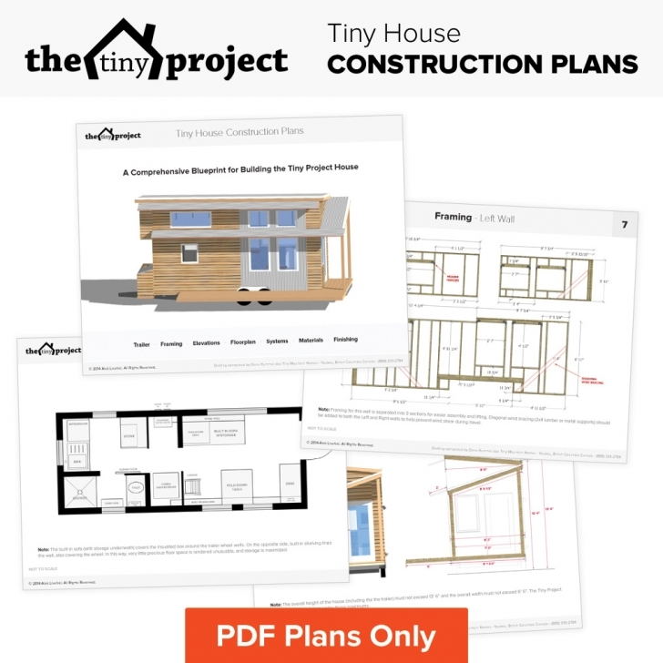 Incredible Tiny House On Wheels Floor Plans Pdf For Construction Free Tiny House Plans Image