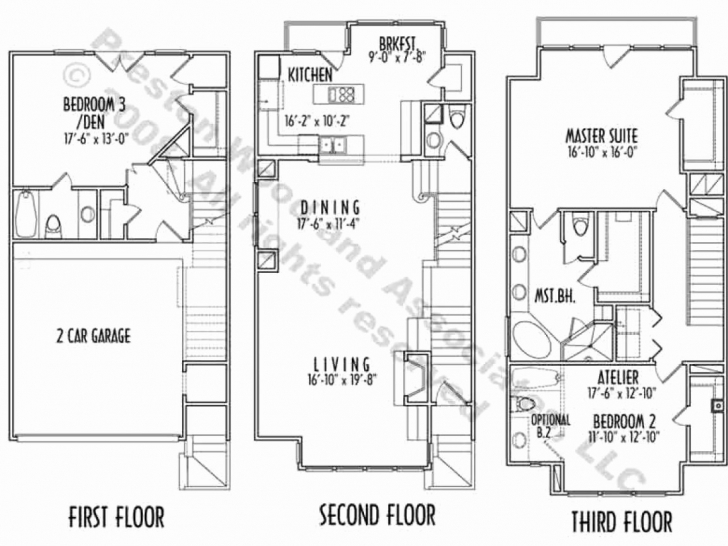 Inspirational 3 Story Narrow Lot House Plans Luxury 60 Awesome 3 Story House Plans 3 Story House Plans Pic