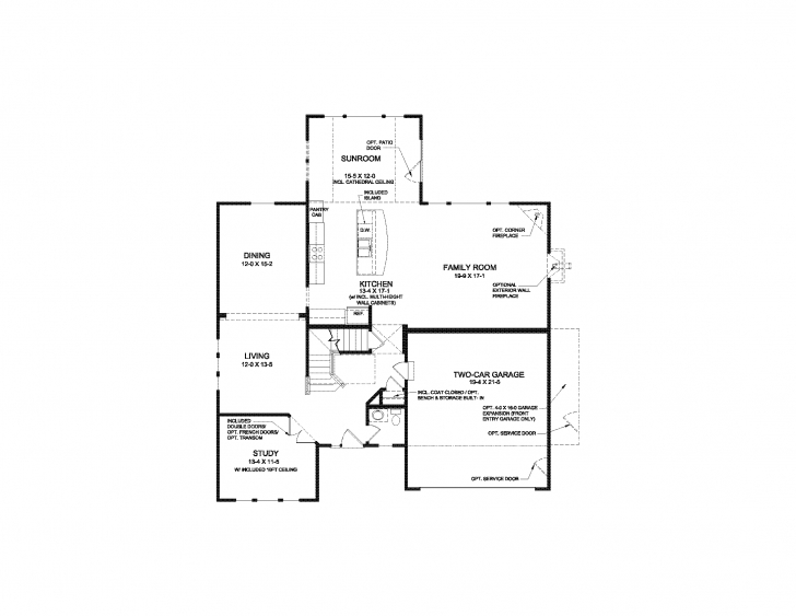 Inspirational Bradford - Floor Plan | Fischer Homes Bradford Floor Plan Image