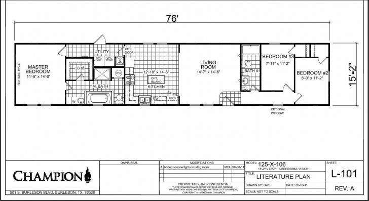 Inspirational Champion Mobile Home Floor Plans Champion Modular Homes Floor Plans Champion Mobile Homes Floor Plans Photo