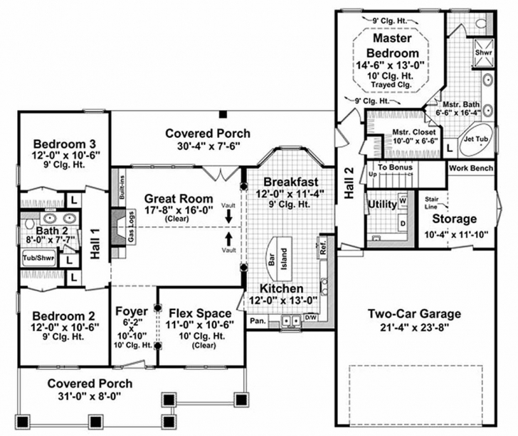 Inspirational Download House Plans 1800 Square Feet | Spc House Expert 1800 Square Foot House Plans Image