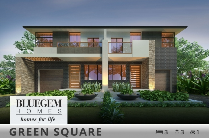 Inspirational Duplex Home Designs And Builders | Bluegem Homes Modern Duplex House Plans Photo