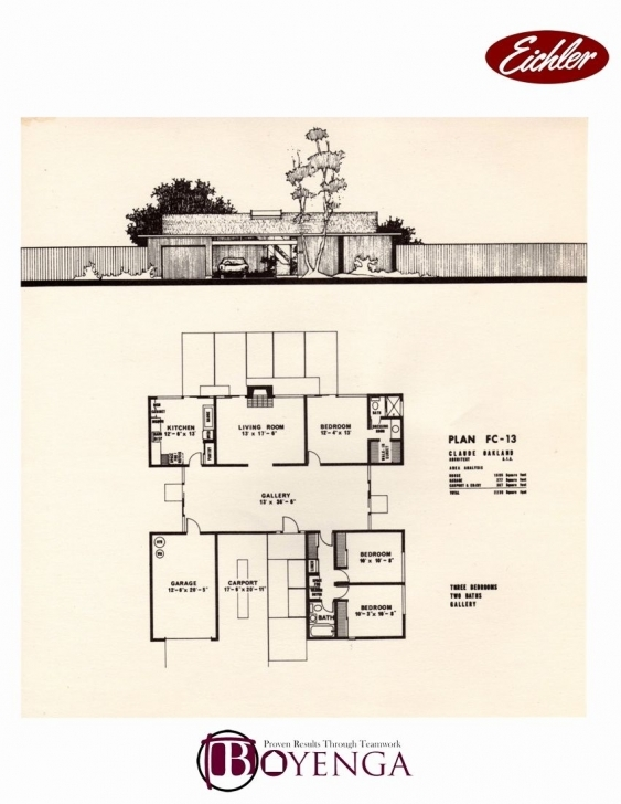 Inspirational Eichler Home Plans Inspirational Foster City Eichler Real Estate Eichler Floor Plans Picture