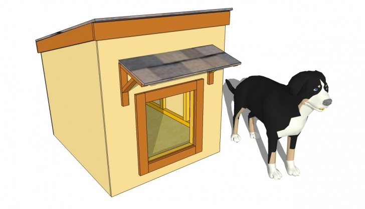 Inspirational Large Dog House Plans | Myoutdoorplans | Free Woodworking Plans And Large Dog House Plans Image