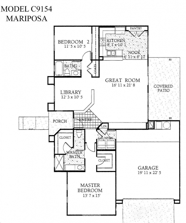 Inspirational Sun City Grand Mariposa Floor Plan, Del Webb Sun City Grand Floor Del Webb Floor Plans Photo
