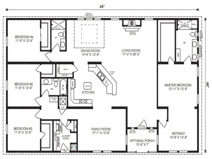Inspirational Triple Wide Mobile Homes Floor Plans Luxury Mobile House Plans Triple Wide Floor Plans Picture