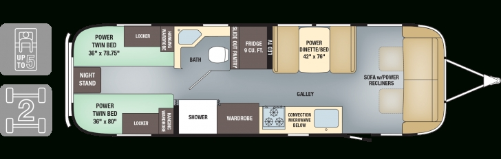 Inspiring 2 Bedroom Travel Trailer Floor Plans Two Trailers For 2018 And Trailer Floor Plans Pic