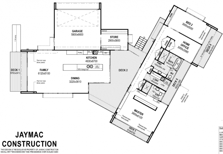 Inspiring Floor Plan Friday: Home With A Central Breezeway Floor Plans With Breezeway Picture
