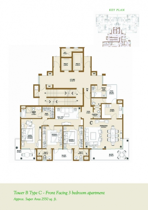 Inspiring Floor Plan - Ventures & Investments - Central Park 2 At Sohna Road Central Park 1 Gurgaon Floor Plans Picture