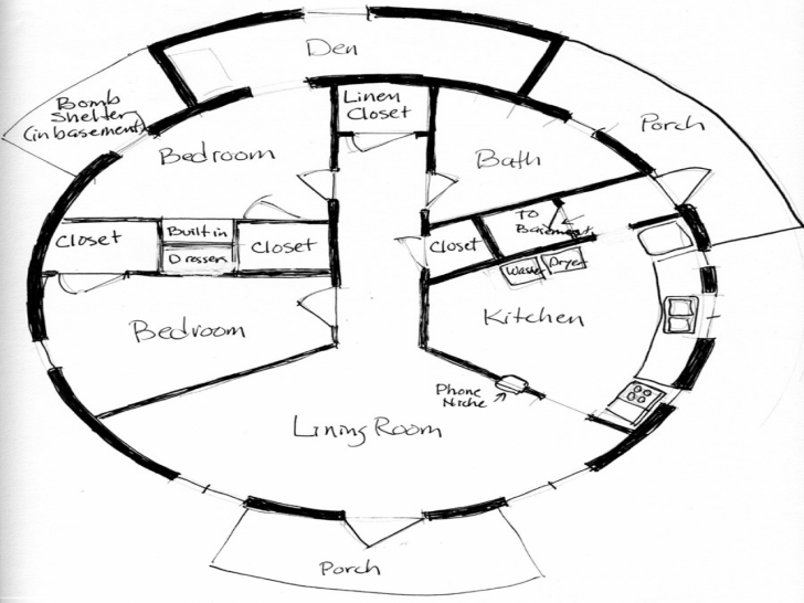 Inspiring Floor: Round Homes Floor Plans Floor Plans For Round Homes Picture