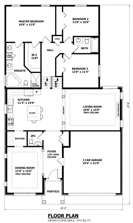 Inspiring House Plans Canada - Stock Custom Backsplit Floor Plans Pic