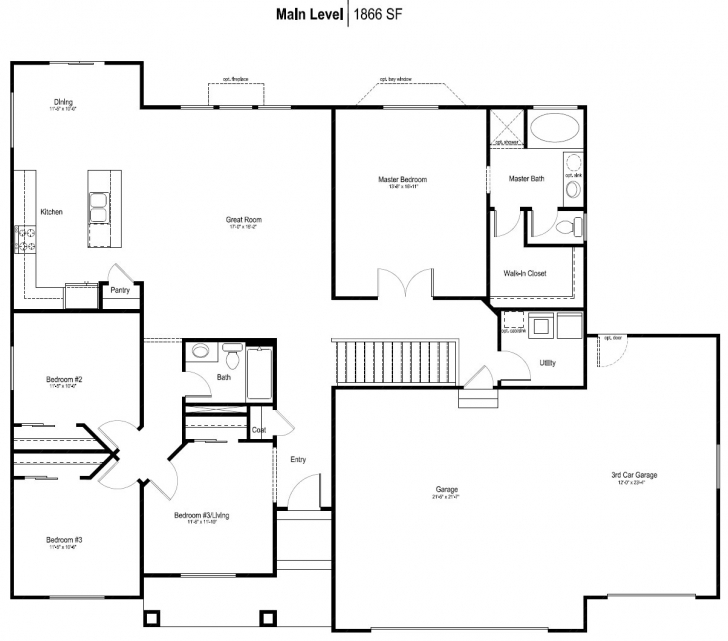 Inspiring Rambler House Plans Decor Information About Home Interior And Rambler Floor Plans Image