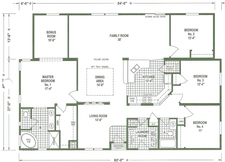Inspiring Triple Wide Mobile Home Floor Plans | We Offer A Complete Service To Triple Wide Floor Plans Image