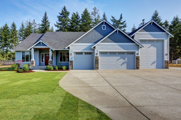 Interesting 2628 Rambler Plan With An Attached Rv Garage. | Exteriors | By Gnw House Plans With Rv Garage Attached Photo