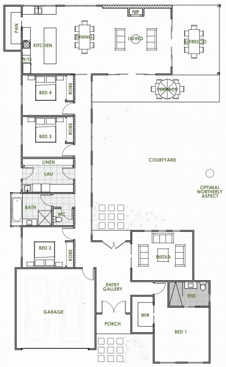 Interesting 50 New House Plans For Patio Homes Best Gallery Unbelievable Floor Floor Plans For Patio Homes Pic