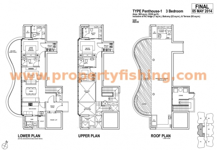 Interesting Amber-Skye-Floor-Plan-Ph1 – Property Fishing Amber Skye Floor Plan Pic