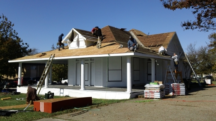 Interesting Community Service – Wetsel House – Plano | Eco Roofing Rally House Plano Picture
