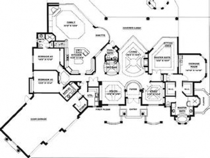 Interesting Cool Home Floor Plans, Photos Of Ideas In 2018 > Budas.biz Cool House Floor Plans Image