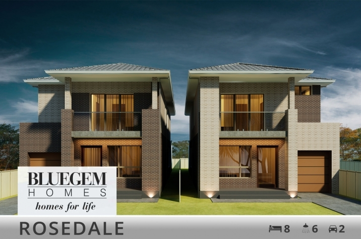 Interesting Duplex Home Designs And Builders | Bluegem Homes Modern Duplex House Plans Picture