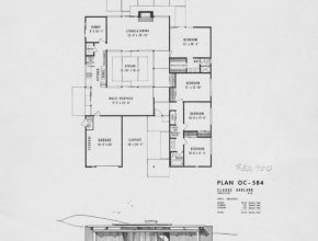 Interesting Eichler Floor Plans-Fairhills - Eichlersocaleichlersocal Eichler Floor Plans Image