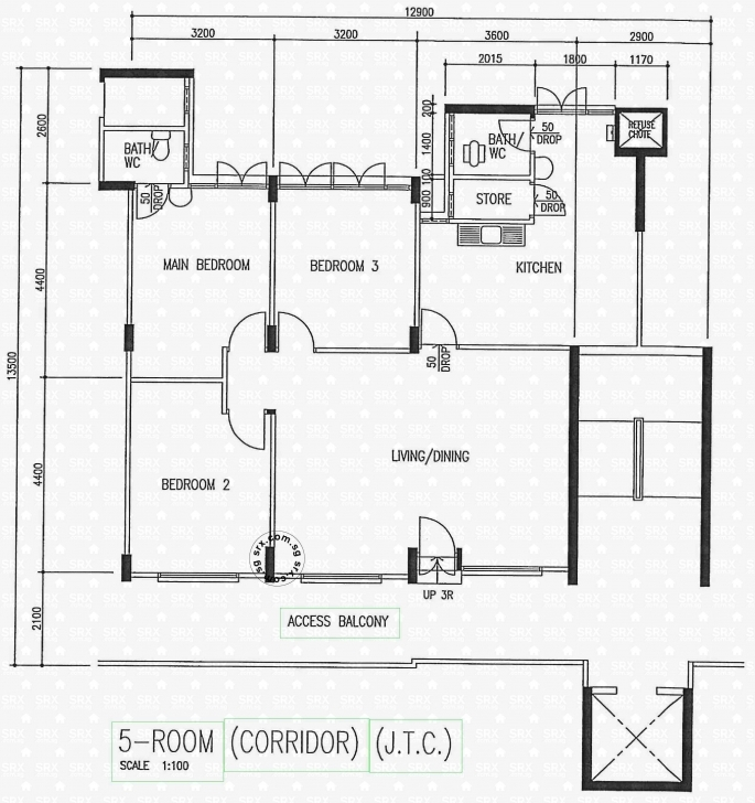 Interesting Floor Plans For Pandan Gardens Hdb Details | Srx Property The Gardens Floor Plan Pic