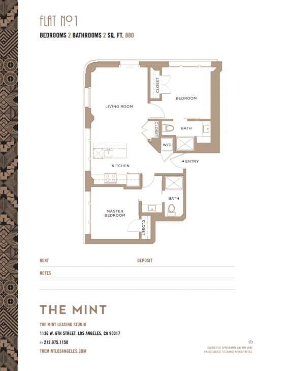 Interesting Floorplans - The Mint Mint Floor Plans Image