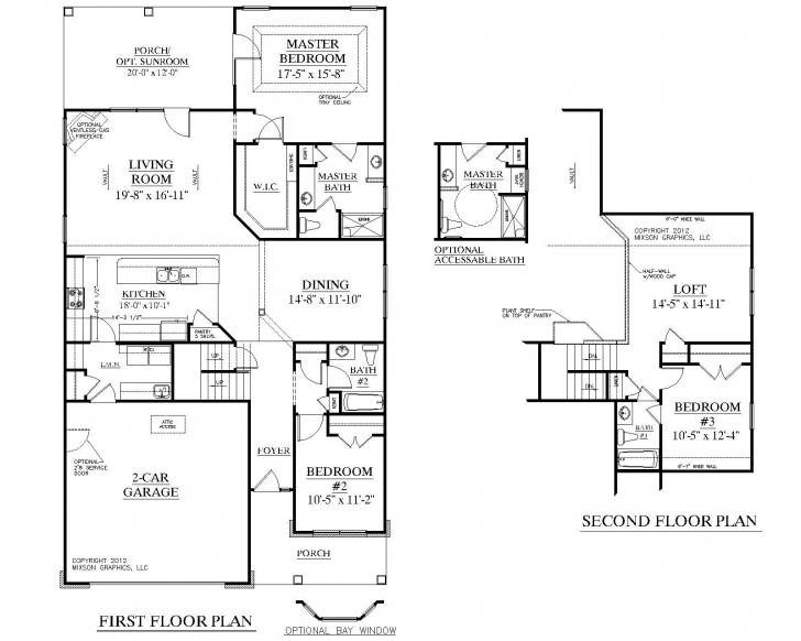 Interesting House Plan 2224 Kingstree Floor Plan - Traditional 1-1/2-Story House 1 1 2 Story House Plans Photo