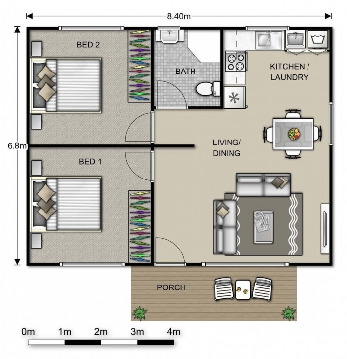Interesting Image Result For 2 Bed Granny Flat Floor Plans | Granny Flat Floor Floor Plans For 2 Bedroom Granny Flats Image