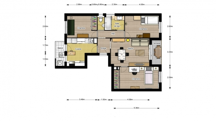 Interesting Interactive Floor Plans For Real Estate | Drawbotics Interactive Floor Plan Photo