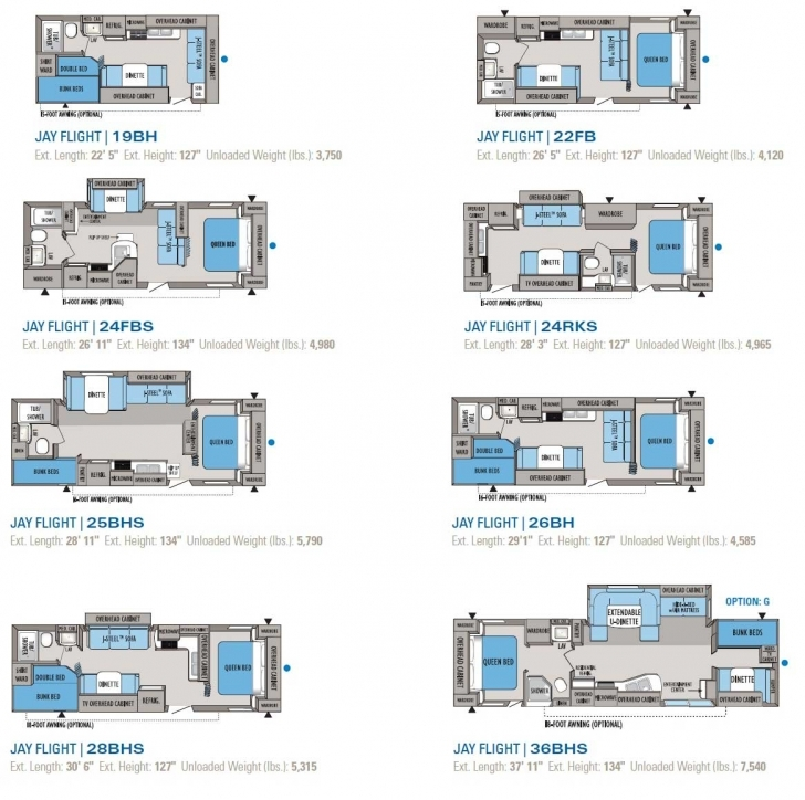 Interesting Jayco Jay Flight Travel Trailer Floorplans Large Picture Regarding Jay Flight Rv Floor Plans Picture
