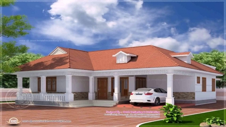 Interesting Kerala Style 4 Bedroom House Plans Single Floor - Youtube Kerala House Plans Single Floor Pic