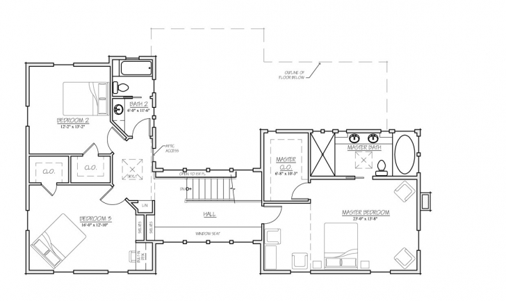Interesting Ranch House Plans With Breezeway - Musicdna Floor Plans With Breezeway Image