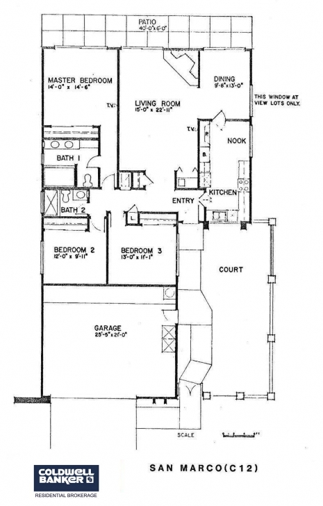 Interesting San Marco Floor Plan - Laguna Woods Village Laguna Woods Floor Plans Image