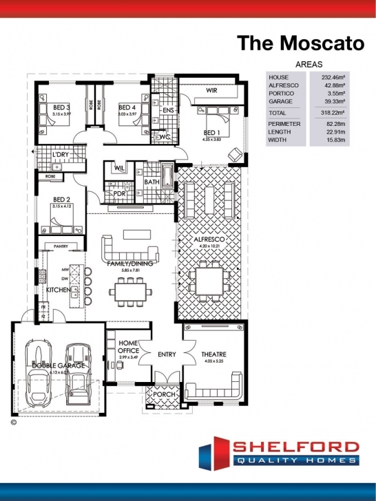 Interesting The Moscato | Shelford Quality Homes Quality Homes Floor Plans Picture