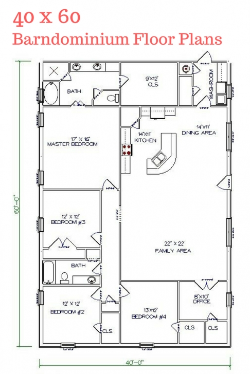 Latest 30 Barndominium Floor Plans For Different Purpose | Floor Plans Metal Home Floor Plans Image