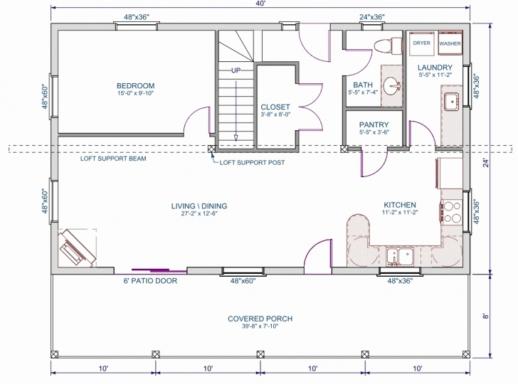 Latest 30X50 House Floor Plans 40—40 House Floor Plans Fascinating 40—40 30x50 House Floor Plans Image