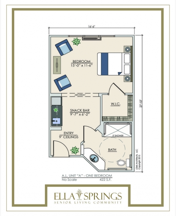 Latest Assisted Living Floor Plans - Ella Springs Senior Living Community Assisted Living Floor Plans Pic