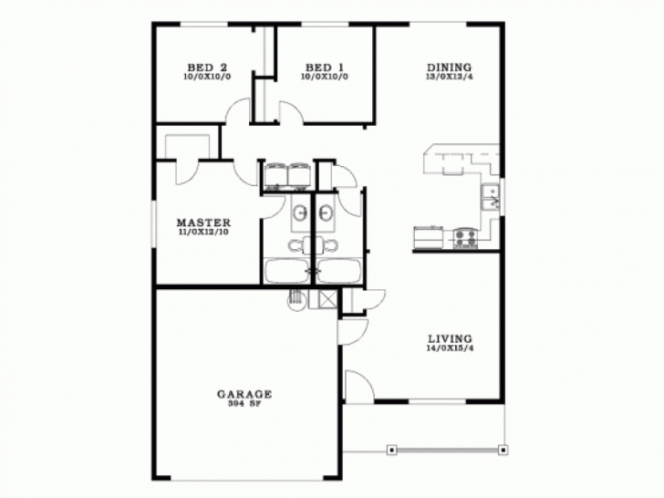 Latest Download 3 Bedroom Bungalow House Plan | Spc House Expert Floor Plan Of Bungalow House In Philippines Photo
