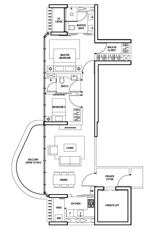 Latest Floor-Plan | Amber Skye Amber Skye Floor Plan Image