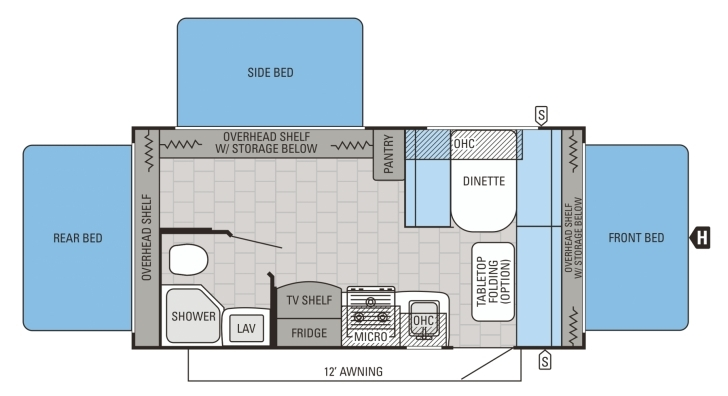 Latest Jayco Jay Flight Travel Trailer Floorplans Lovely Jayco Floor Plan Jay Flight Rv Floor Plans Picture