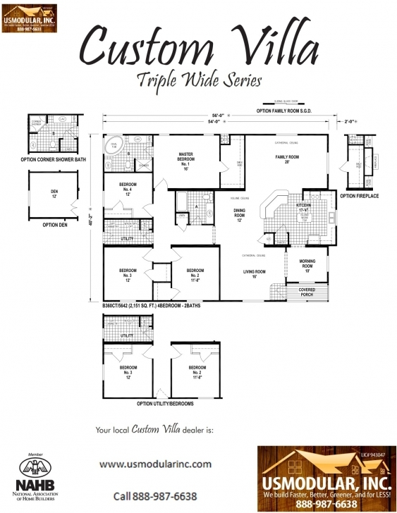 Latest Pre Designed Modular Floor Plans Modular Floor Plans Photo