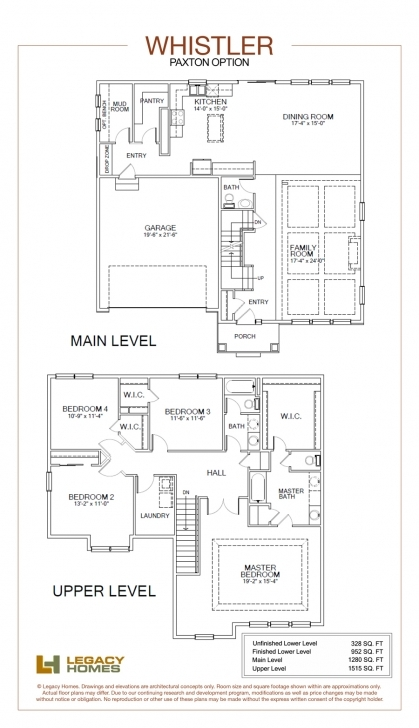 Latest Whistler Floor Plan | Legacy Homes | Omaha And Lincoln Legacy Homes Floor Plans Image
