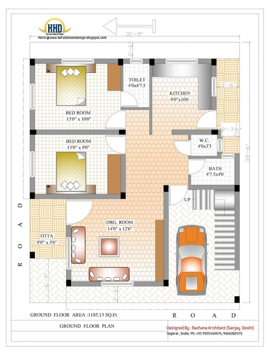 Marvelous 2370 Sq.ft. Indian Style Home Design Indian House Plans   House Indian House Designs And Floor Plans Picture